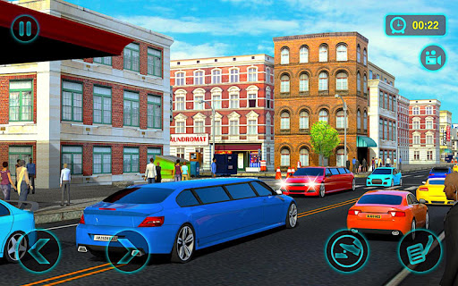 Luxury Limo Simulator 2020 : City Drive 3D androidiapk screenshots 1
