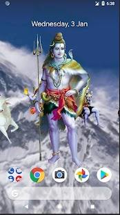 4D Shiva Live Wallpaper - náhled