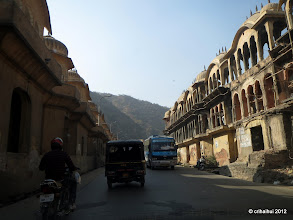 Photo: Intrarea in Jaipur