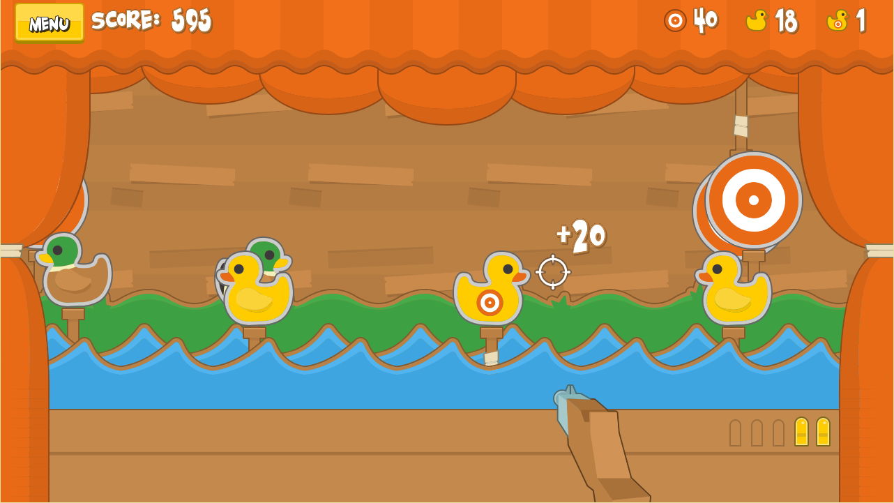 Quack a Duck Shooting Stall (Unreleased)- screenshot