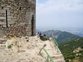 Photo: Vue dégagée depuis la Tour de la Massane