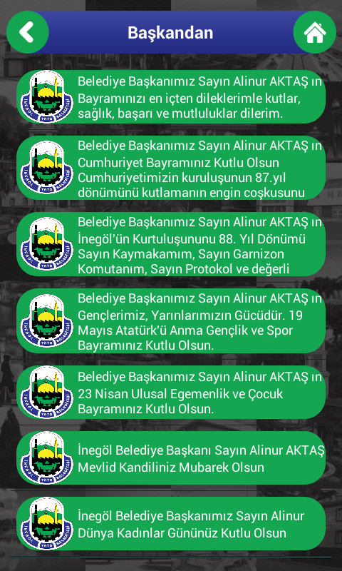 İnegöl Belediyesi- screenshot
