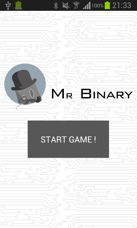Mr Binary- screenshot
