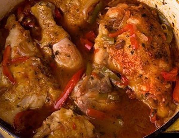 Basque Chicken (sallye) Recipe