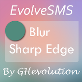 EvolveSMS Blur Sharp Edge