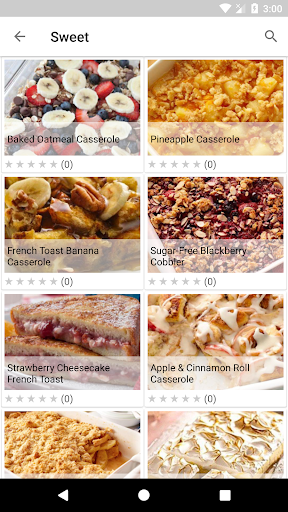 Casserole Recipes 1.06 screenshots 2