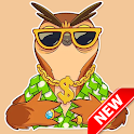 Cute Little Owl Stickers - WAStickerApps icon