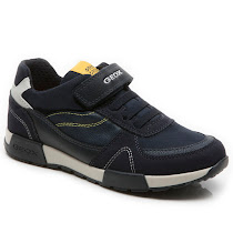 Geox Alfier Trainers JUNIOR VELCRO