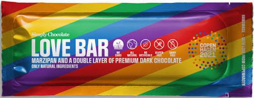 Love bar - chokladbar med mörkchoklad och marsipan – Simply Chocolate