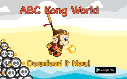 Pop the Letter ABC Kong World