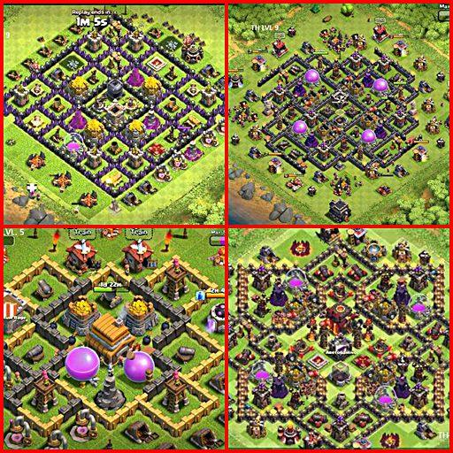 顶级地图 Clash of Clans