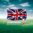 Learn English in context icon