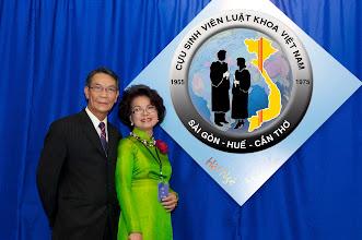 Photo: anh Phạm Mạnh Tuấn (SVLK SaiGon) & phu nhân Dương T. Tiến (SVLK SaiGon)