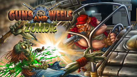 Guns And Wheels Zombie (Full) APK screenshot thumbnail 1
