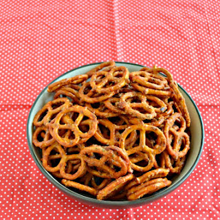 Spicy Pretzels.