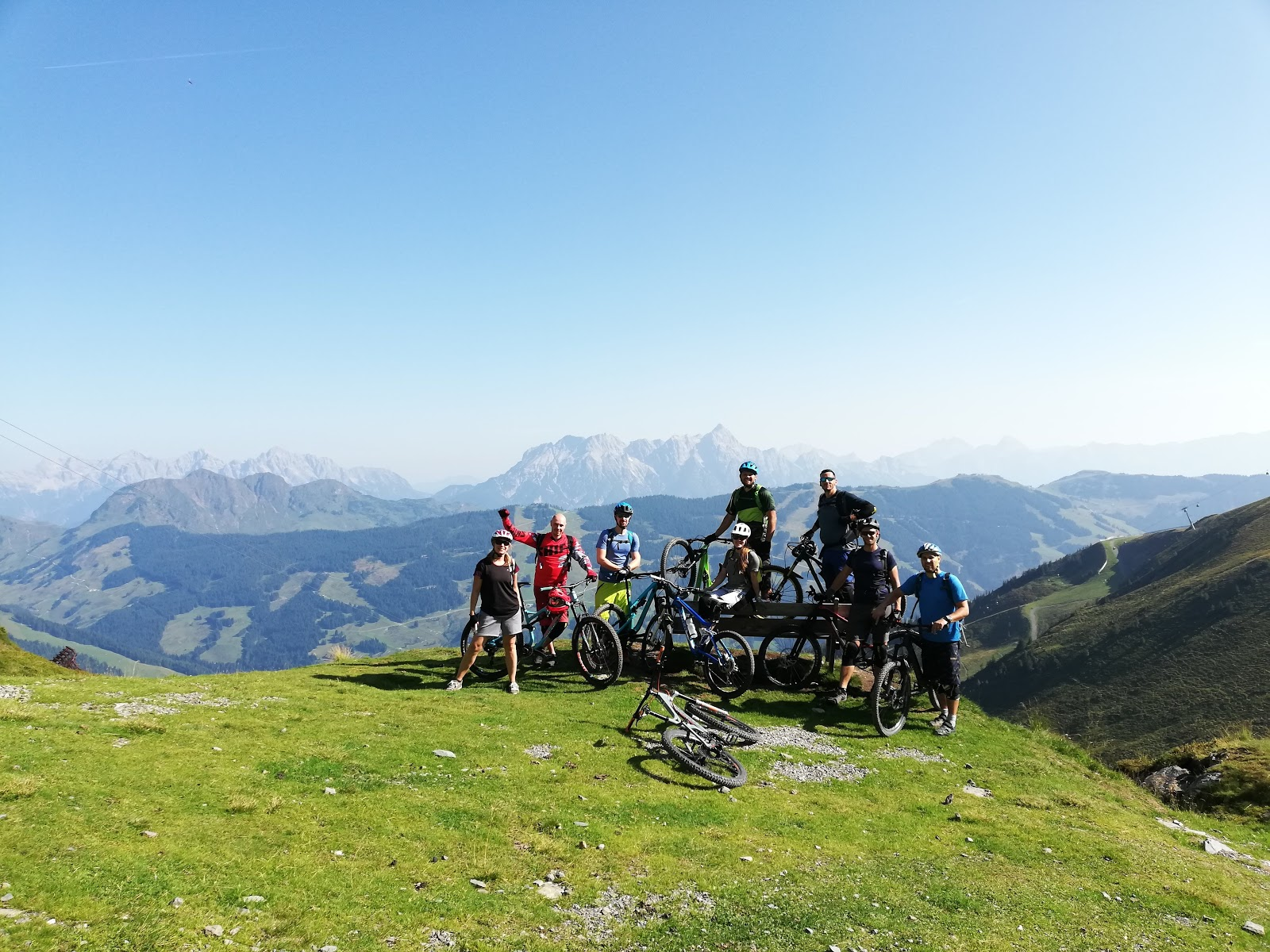 Saalbach mtb weekend - August 19