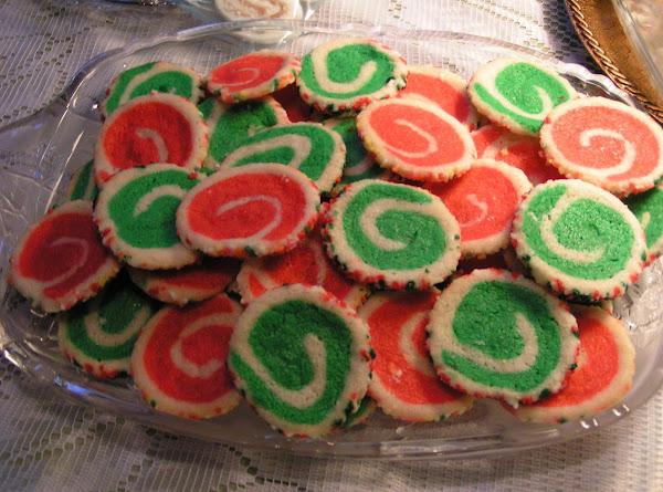 Christmas Swirl Cookies - Dee Dee's Recipe