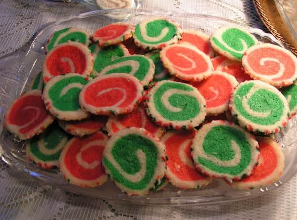 Christmas Swirl Cookies - Dee Dee's