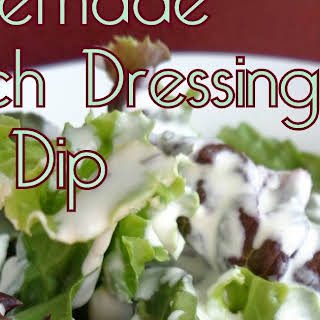 Homemade Ranch Dressing and Dip.