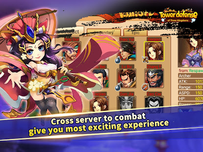 Tower defense of Three Kingdoms for PC-Windows 7,8,10 and Mac apk screenshot 8
