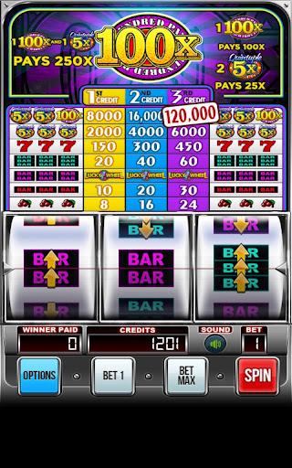 Quintuple 100x Free Slots
