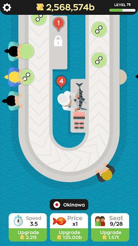 Sushi Bar Android App Screenshot