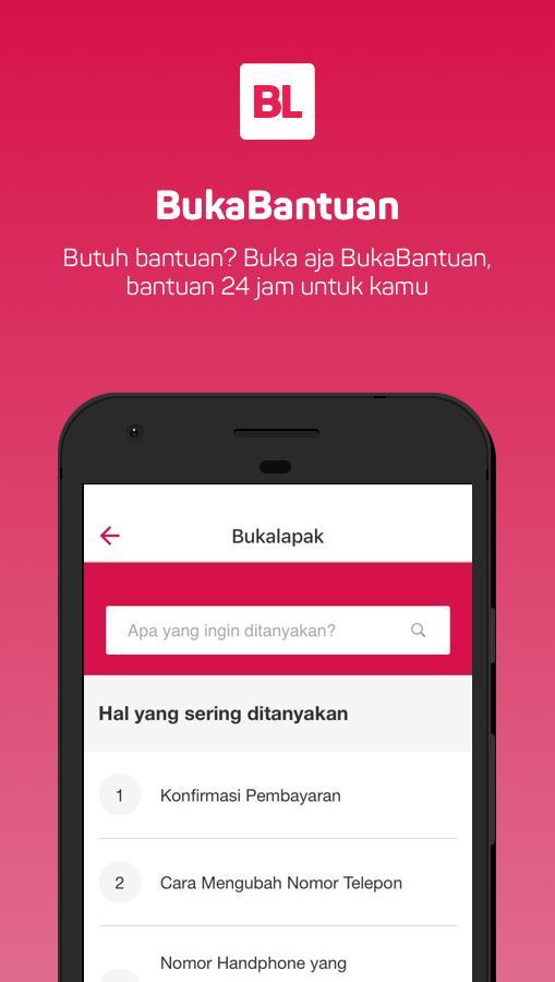 Bukalapak Jual Beli Online Screens