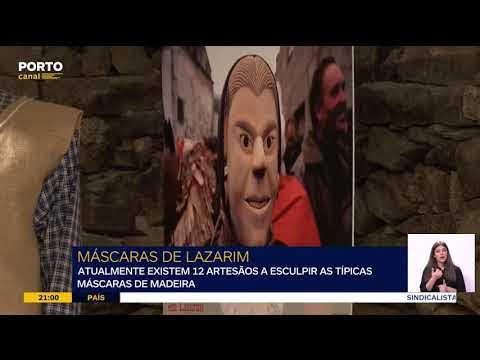 Vídeo - Como são esculpidas as tão conhecidas máscaras de Lazarim?
