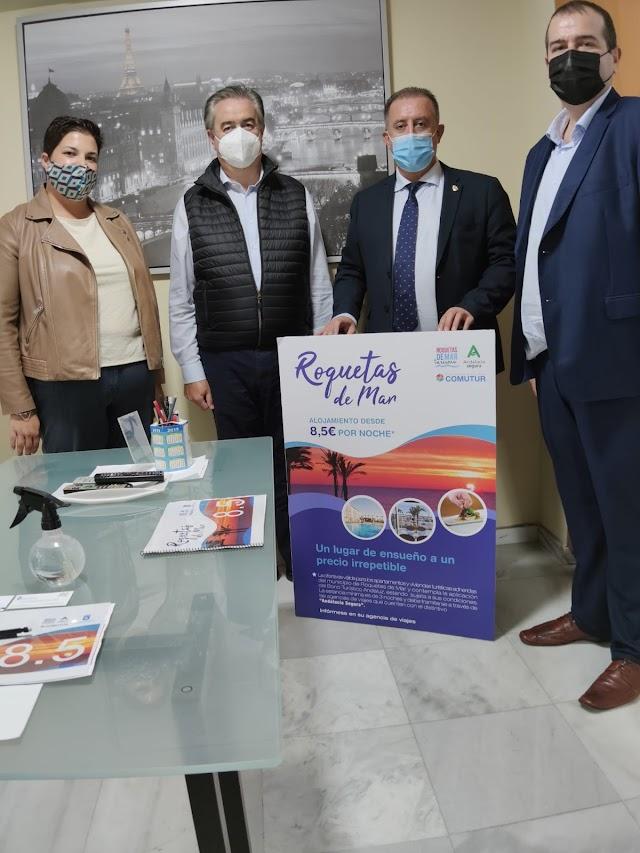 Presentación del proyecto Roquetas 8.5 a la asociación de agencias de viaje de Córdoba.