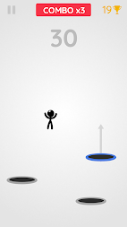 Tramp Land - Stickman Jump Arcade APK screenshot thumbnail 5