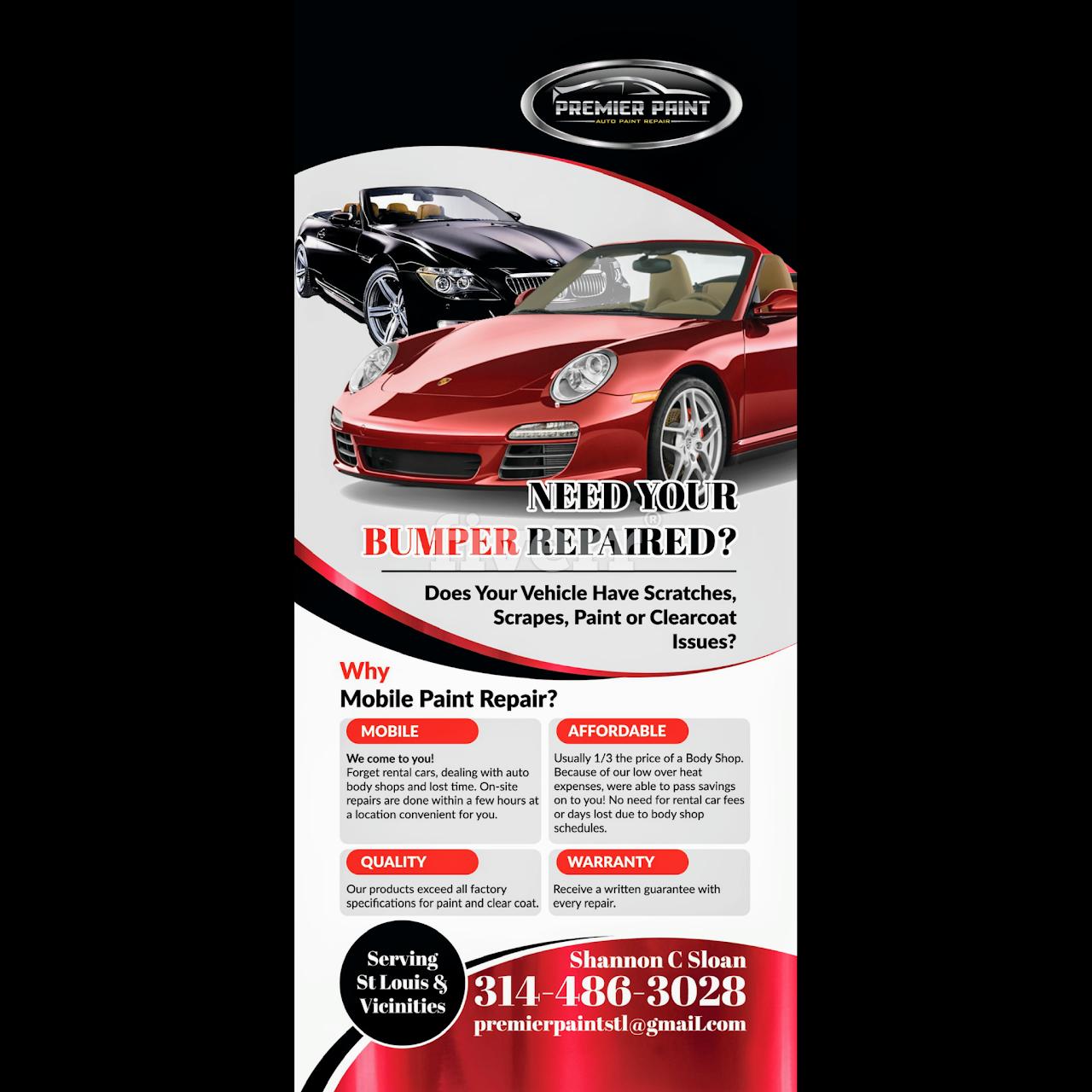 Premier Mobile Auto Paint and Bumper Repair - Mobile Auto
