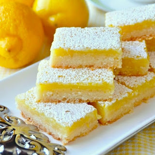Super Easy Lemon Bars
