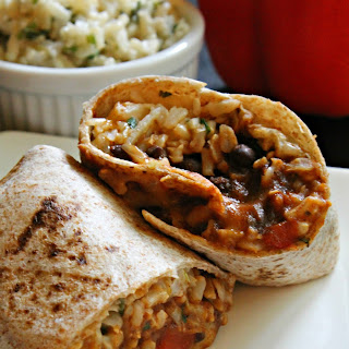 The Ultimate Veggie Burrito.