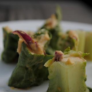 Lettuce Wraps + 2 Types of Hummus
