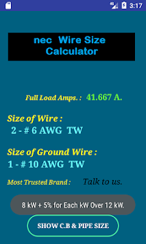 Download nec wire size calculator free apk latest version app for nec wire size calculator free poster keyboard keysfo Image collections