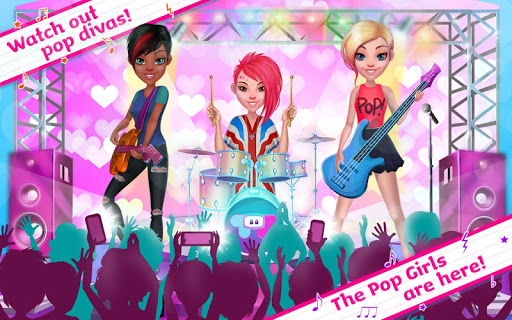 Pop Girls - High School Band 1.1.9 screenshots 2
