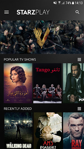 STARZ PLAY | Movies & TV shows 4.0.2.2018.09.17 screenshots 1