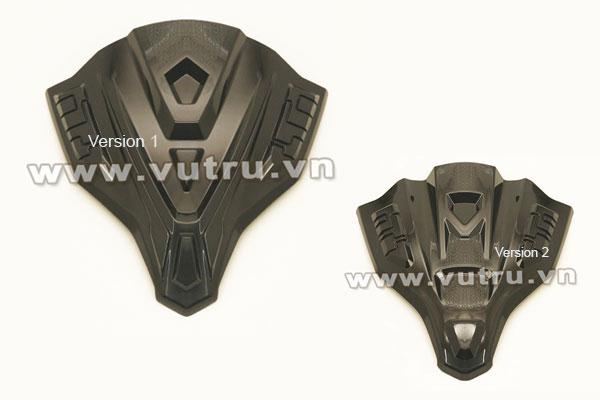 2 version của mão chắn gió xe tay ga Air Blade 2020
