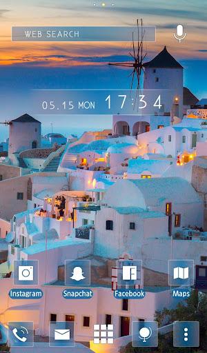 Wallpaper Sunset in Santorini 1.0.0 Windows u7528 5