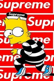 supreme hypebeast wallpaper - náhled
