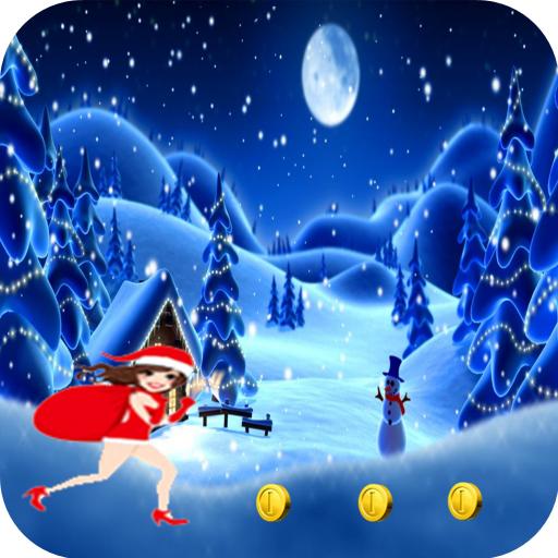 Santa Girl Christmas Run Games