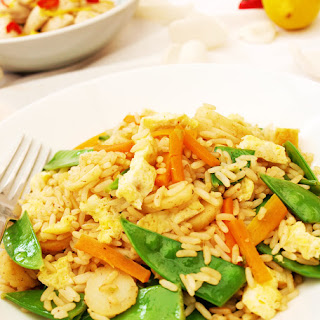 Chinese Egg Fried Rice.