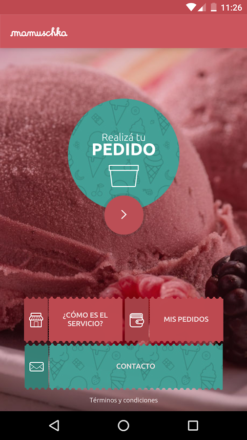 Mamuschka Helados- screenshot