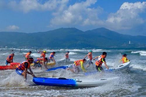 Bãi biển Mỹ Khê Đà Nẵng tăng thêm sức hấp dẫn
