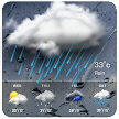 Real-time Forecast Weather App--Snowstorm Alert APK