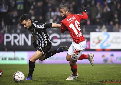 L'arrière droit de Charleroi Stergos Marinos fait une confidence