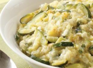Zucchini Chile-cheddar Mash Recipe