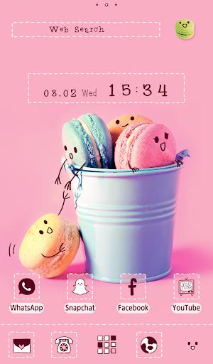 Cute Wallpaper Pastel Macarons Theme 1.0.1 Windows u7528 1