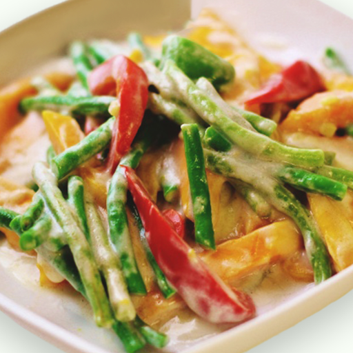 Coconut Ginger Vegetables Rice Combo