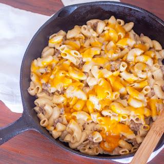 Homemade Cheeseburger Macaroni